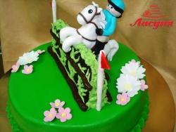#д150(25) торт Всадница