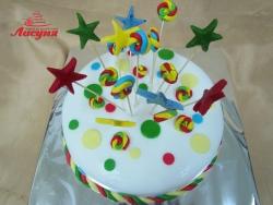 #д150(29) торт на день рождения