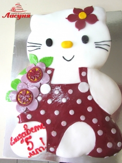 #д150(30) торт Хелло Китти Hello Kitty
