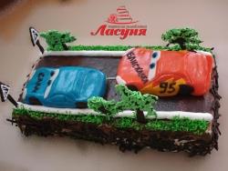 #д150(45) торт Тачки Маквин