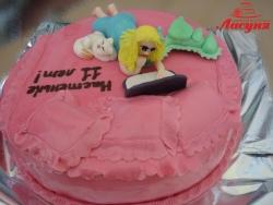 #д160(3) торт для девушки