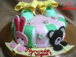 #д160(33) торт для девочки