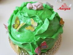 #д160(37) торт Капуста для новорождённого