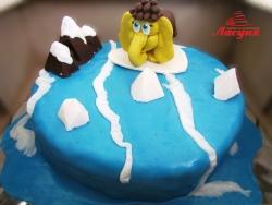 #д160(45) торт Мамонтёнок