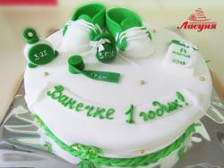 #д160(47) торт на 1 годик для мальчика