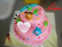 #д160(48) торт Смешарики