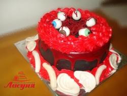 #д160(5) торт на Хеллоуин