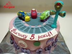 #д160(54) торт паровозики Чаггинтон