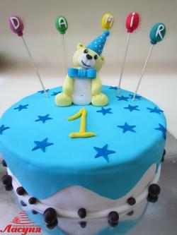 #д160(55) торт на 1 годик