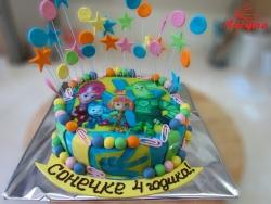 #д160(56) фото торт фиксики