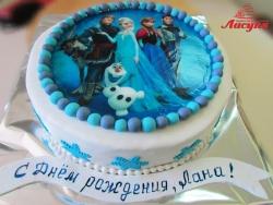 #д160(57) фото торт Холодное Сердце Эльза