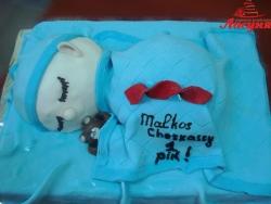 #д160(7) торт на 1 годик для мальчика