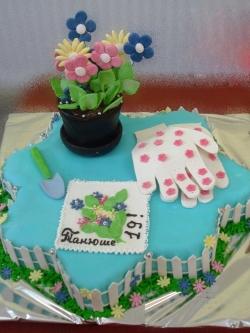 #д160(8) торт для мамы и бабушки
