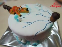 #д180(1) торт Ледниковый Период Белка с жёлудем