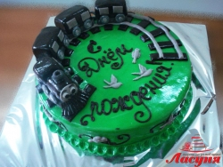 #д180(14) торт Паровозик