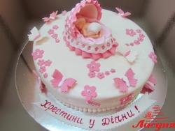 #д180(52) торт детская люлька