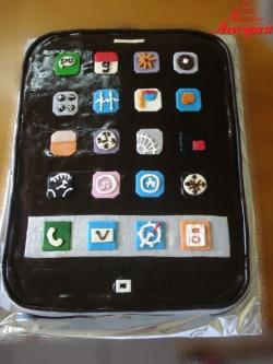 #д180(8) торт Айфон IPhone