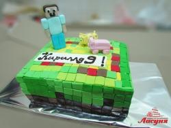 #д200(21) торт Майнкрафт