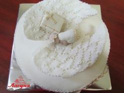 #д200(24) торт на крестины