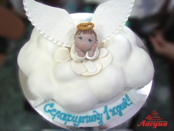 #д200(5) торт ангел на облаке