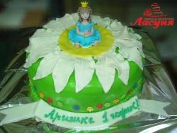 #д200(6) торт для девочки маленькая принцесса