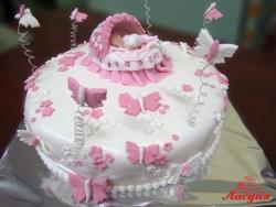 #д220(1) торт детская люлька