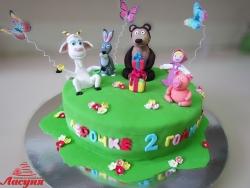 #д250(2) торт Маша и Медведь