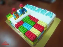 #д250(4) торт Лего LEGO