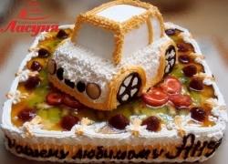 #д95(31) торт машинка