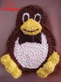 #д95(41) торт пингвин
