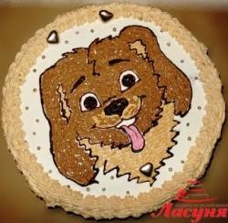 #д95(51) торт собачка