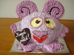 #д95(59) торт смешарики Бараш