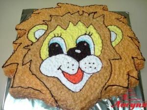 #д95(74) торт львёнок