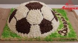 #д95(75) торт футбольный мяч