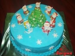 #п180(20) торт на новый год