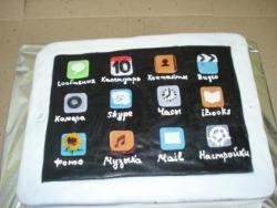 #п180(22) торт планшет Айпад IPad