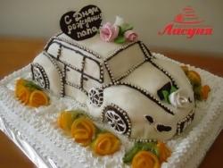 #п180(24) торт машинка