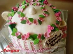 #п180(4) торт заварочный чайник