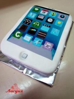 #п180(46) торт Айфон IPhone