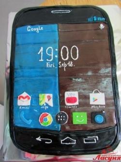 #п180(56) торт смартфон