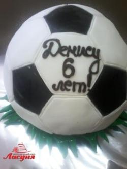 #п180(57) торт футбольный мяч