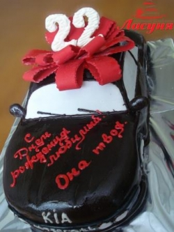 #п180(8) торт машина KIA