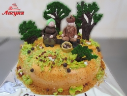 #п200(12) торт грибники