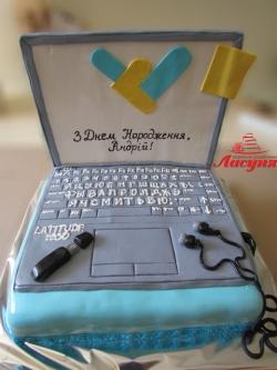 #п200(14) торт ноутбук