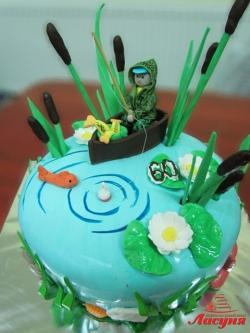 #п200(15) торт рыбак