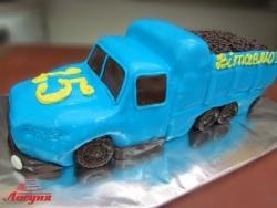 #п200(19) торт машина грузовик