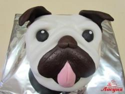 #п200(30) торт собака мопс