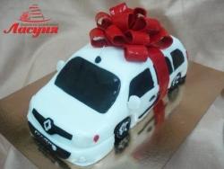 #п200(38) торт машина Рено Кангу Renault Kangoo