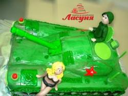 #п200(4) торт танк с танкистом