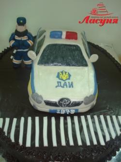 #п200(6) торт для Милиционера Полицейского